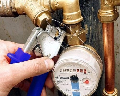 Установка и опломбировка счетчиков воды