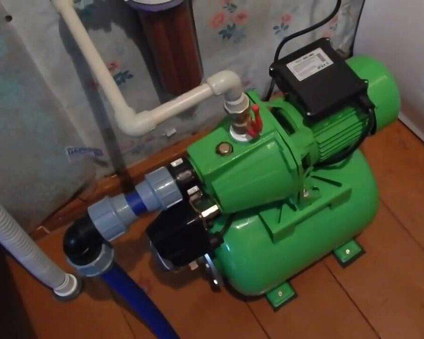 Подключение стиральной машины от насосной станции